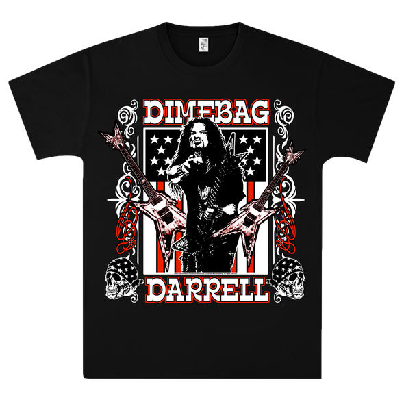 Guitars Flag T-Shirt