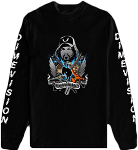 DimeVision Cover Long Sleeve Tee