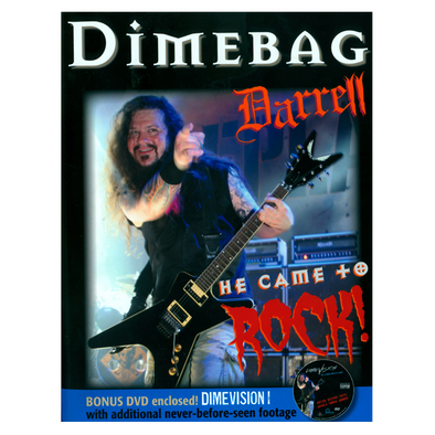 Dimebag Darrell: He Came to Rock [DVD + Book]