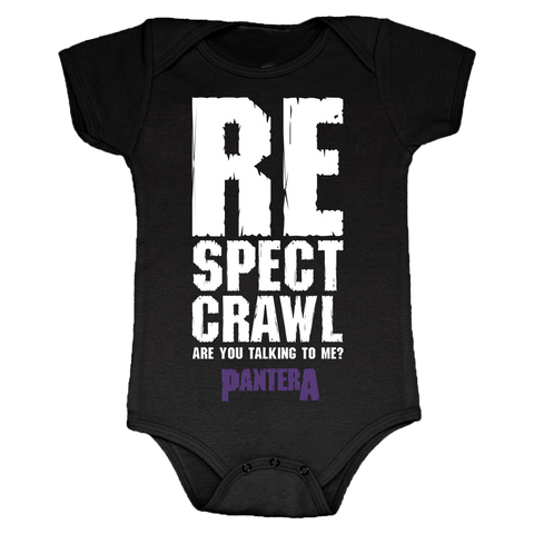 Respect Crawl Onesie