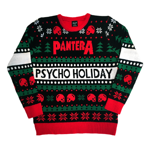 Pantera Holiday Psycho Holiday Sweater