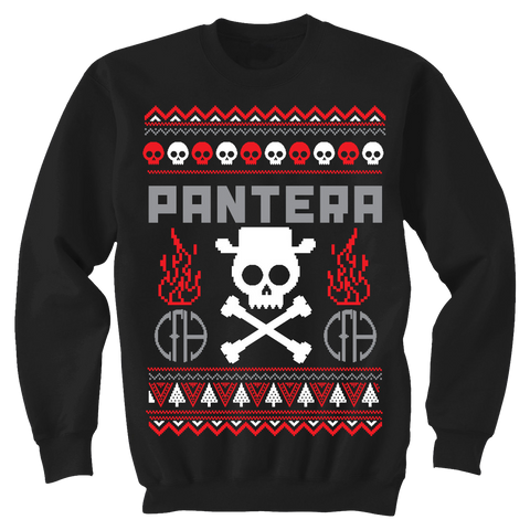 Pantera Holiday Crew Sweatshirt
