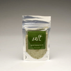 Spanish Rosemary Sea Salt 2oz