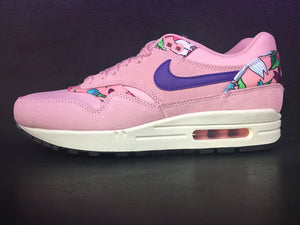 detailed look 7e220 47490 WMNS Nike Air Max 1 Print 'Aloha Pack' 'Pink' – sneaker plugz