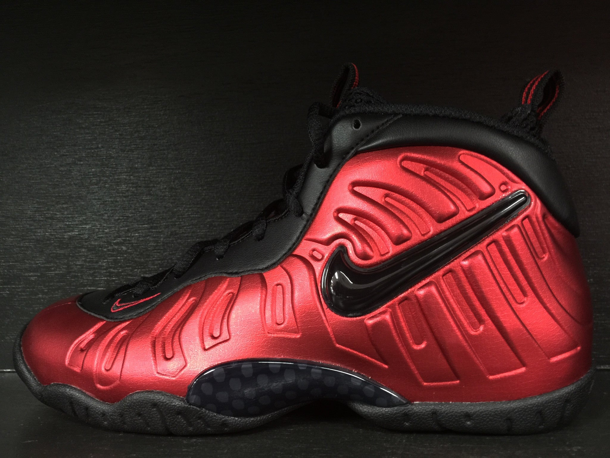 Nike Little Posite Pro (GS) 'University Red'