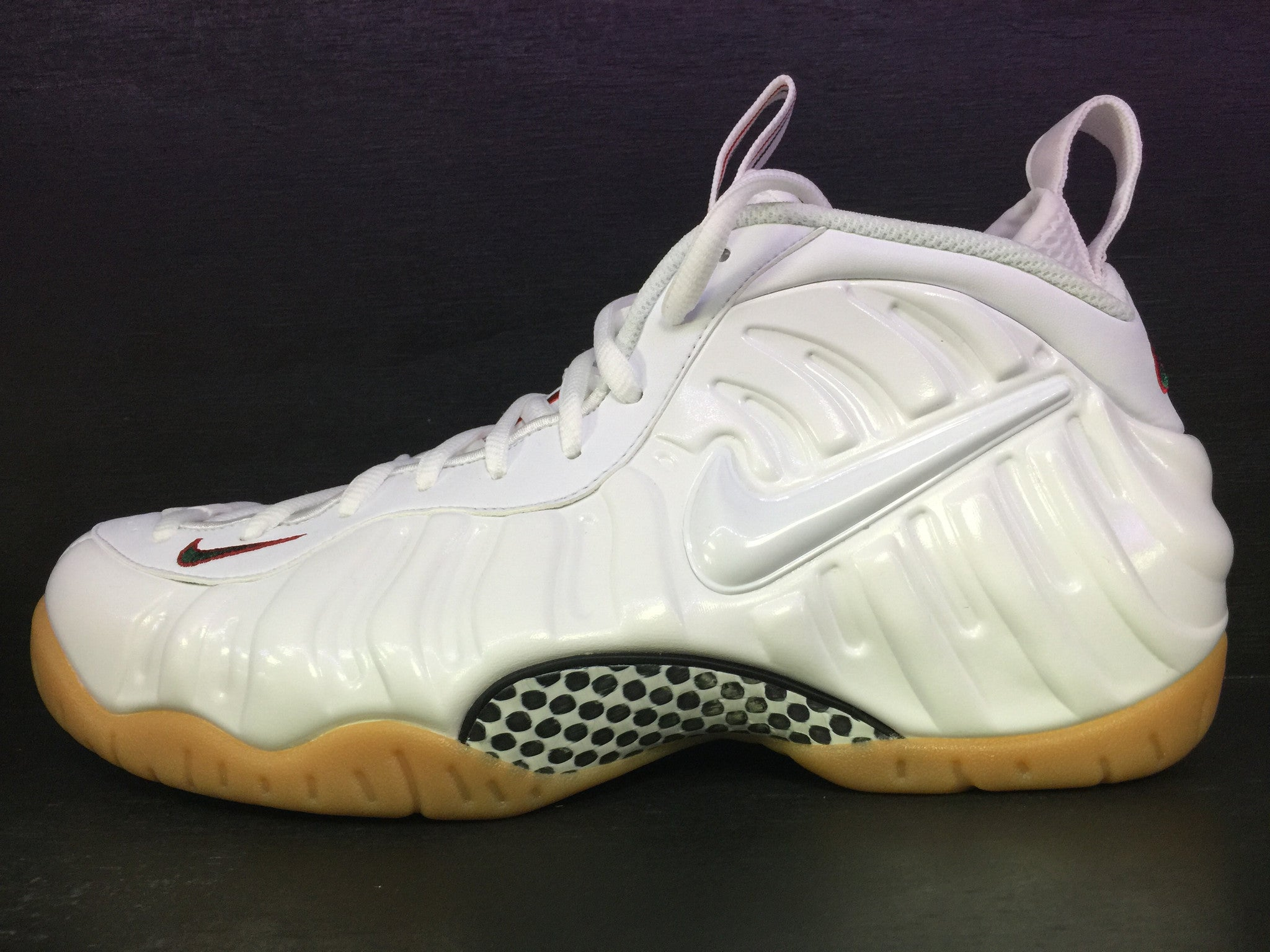 Nike Air Foamposite Pro 'White Gucci'