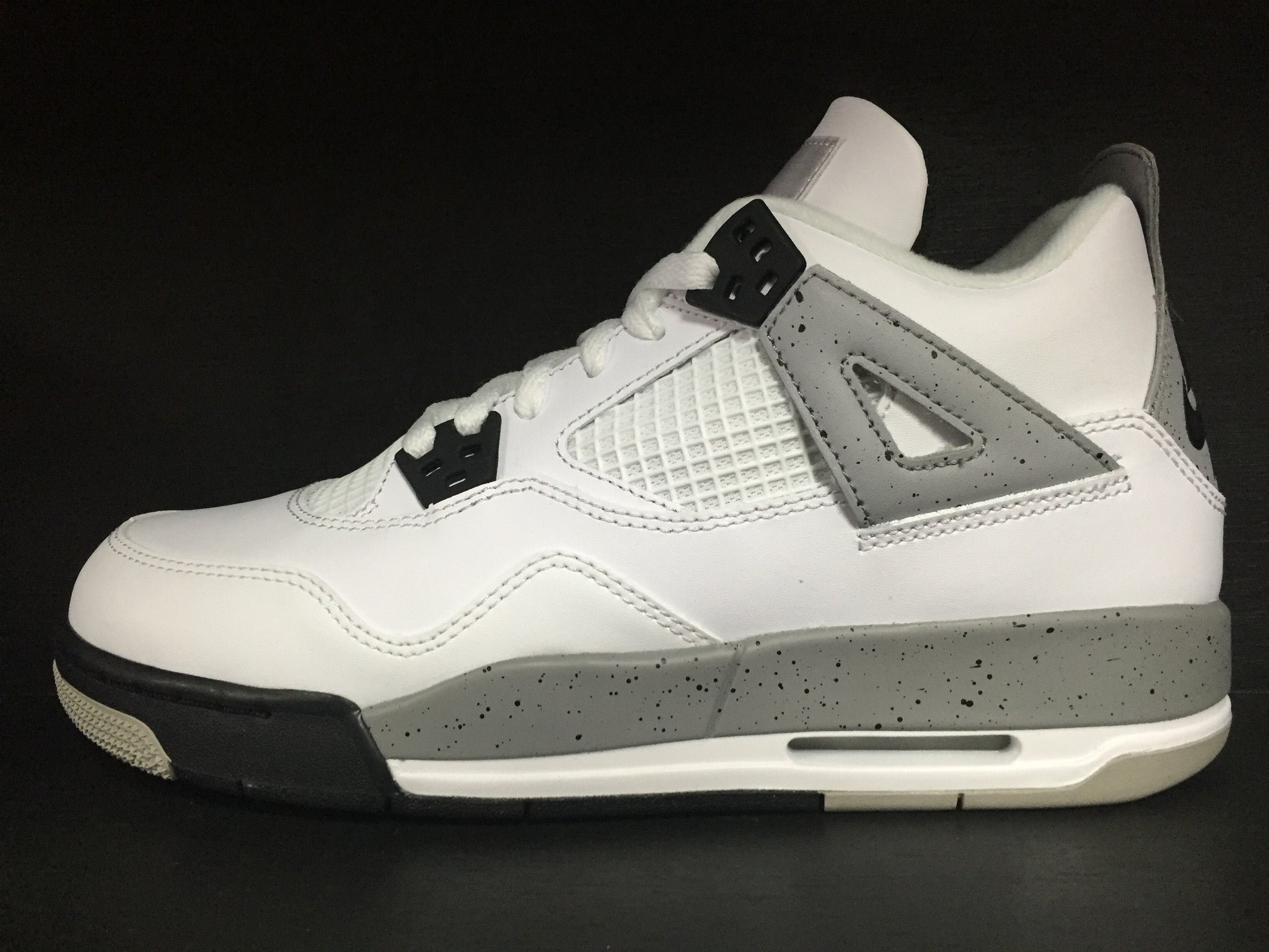 Air Jordan 4 Retro OG 'White Cement' GS