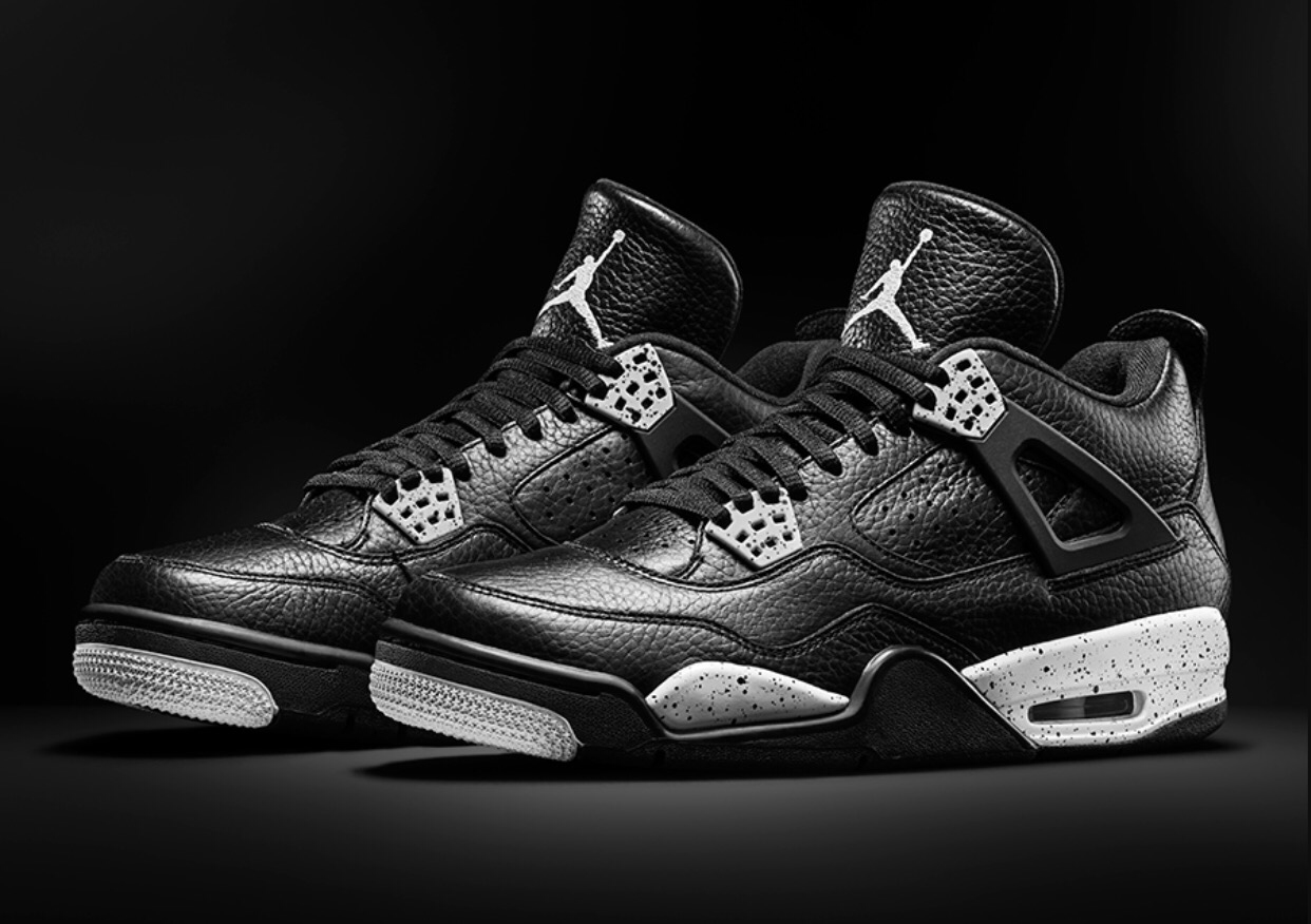 Air Jordan 4 Retro 'Oreo' Grade School Remastered