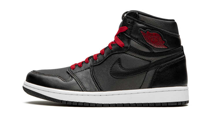 "Air Jordan 1 Retro High ""Black Satin Gym Red"""