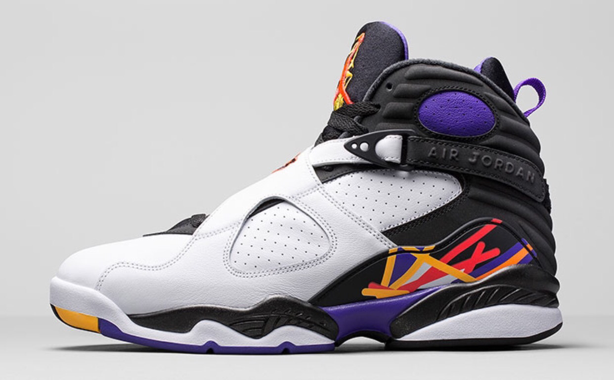 Air Jordan 8 Retro 'Three Time's A Charm'