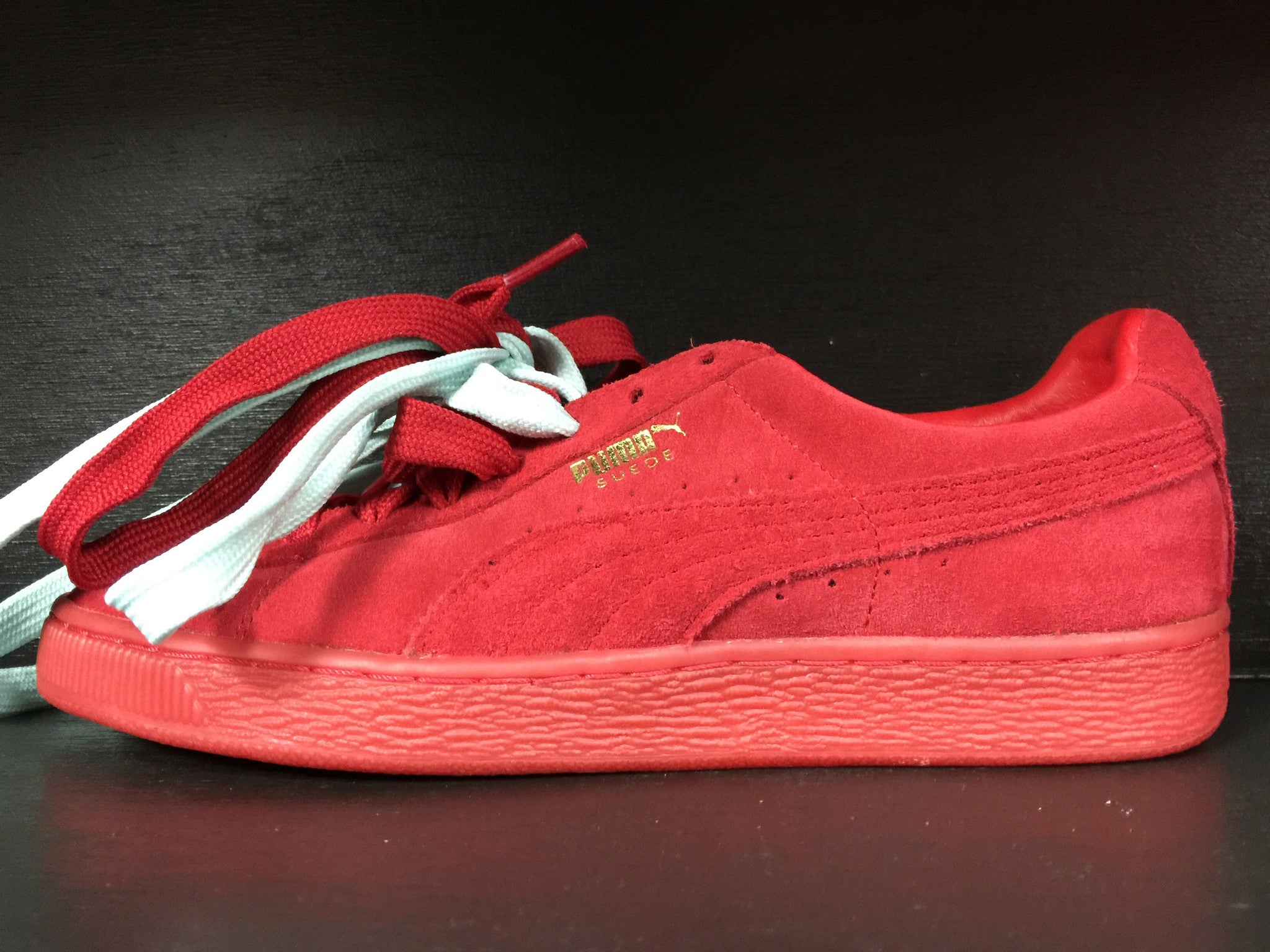 Puma Suede Classic Mono Iced 'Red'