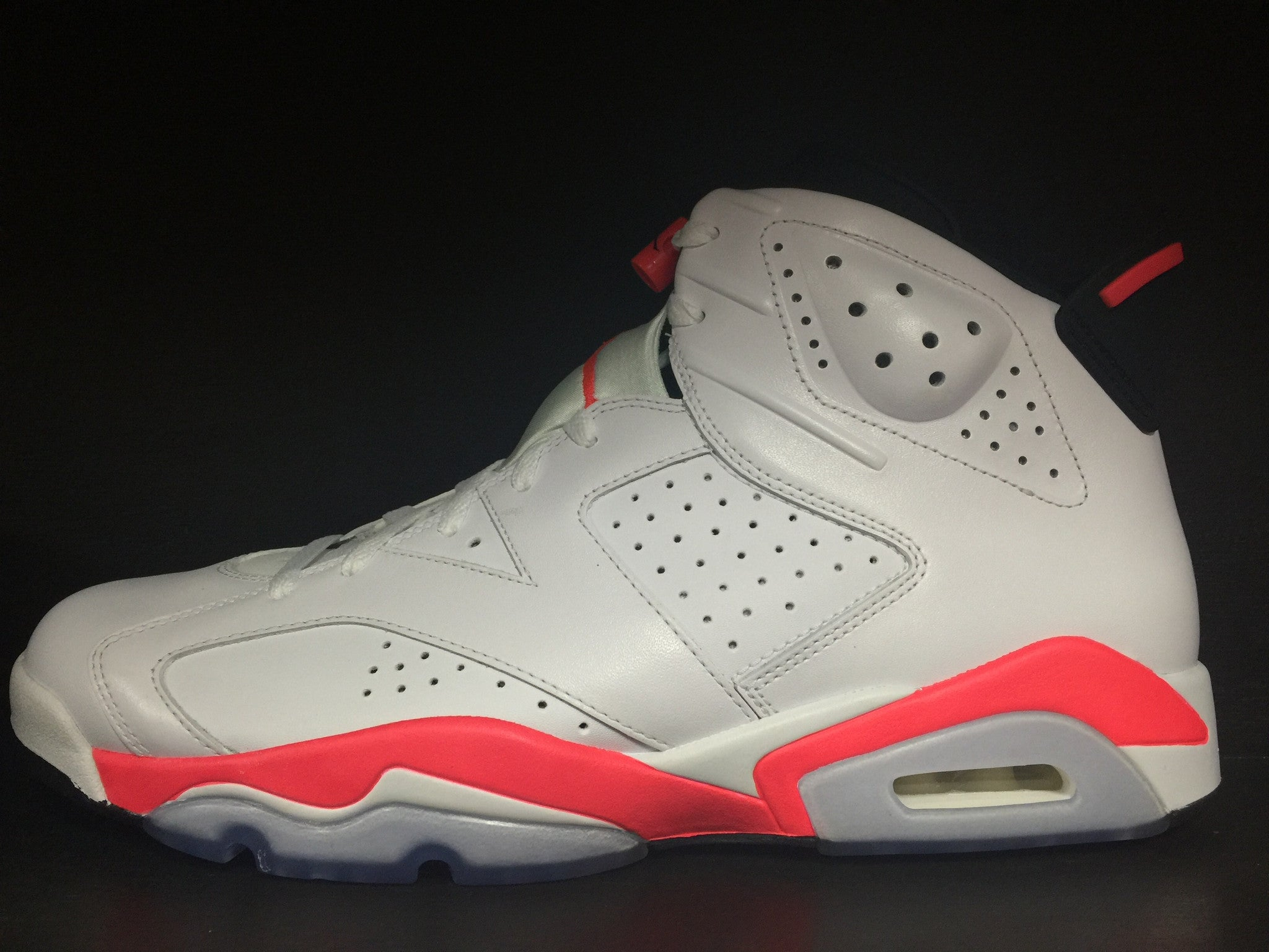 Air Jordan 6 Retro 'Infrared' 'White'