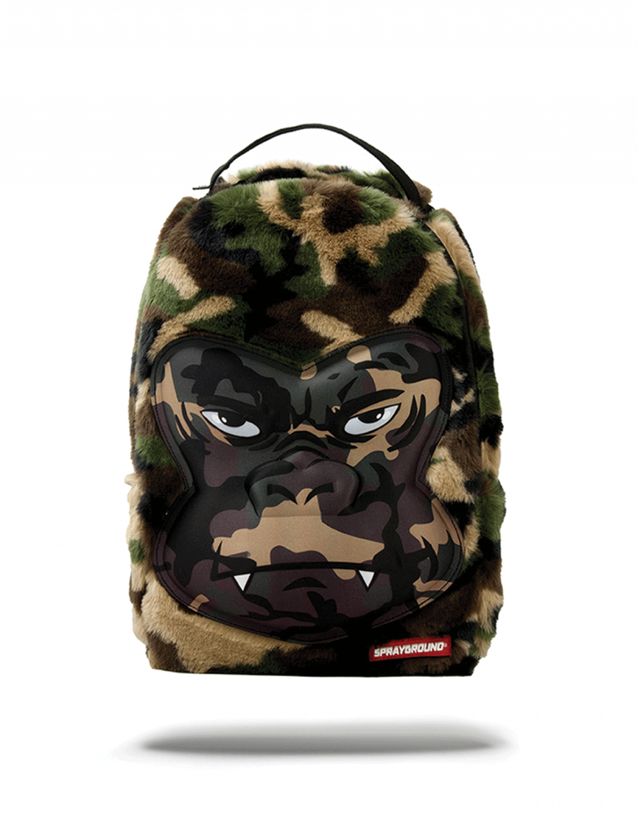 Mini Camo Gorilla Fur
