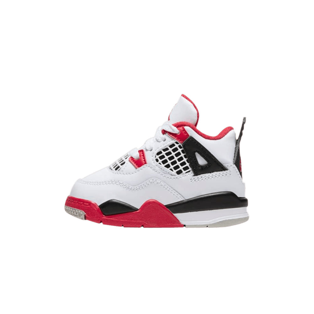 "INFANTS Air Jordan 4 Retro ""Fire Red"""