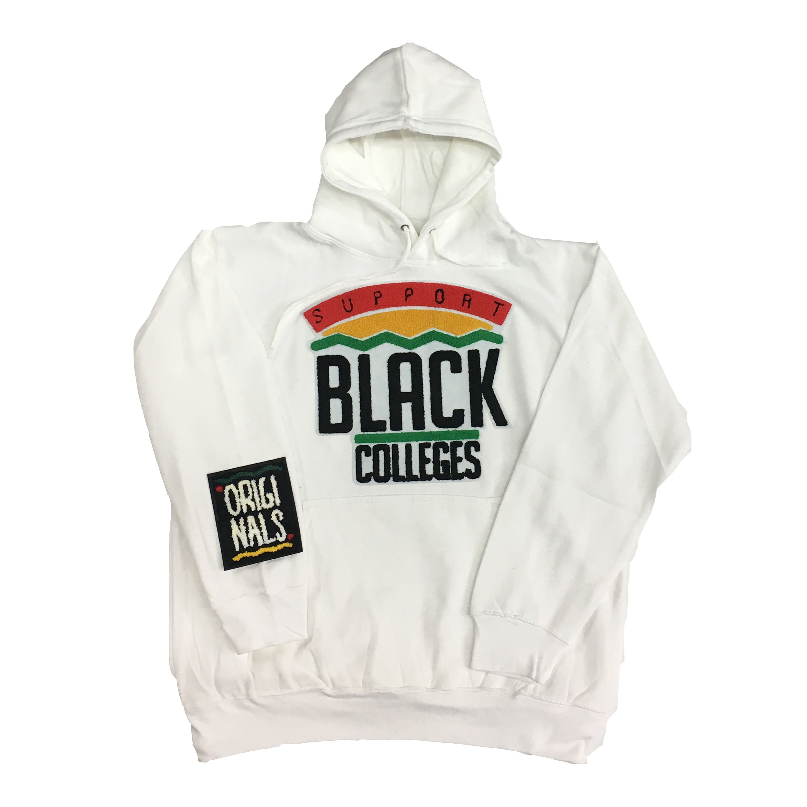 "Originals ""Support Black Colleges"" Hoodie ""White"""