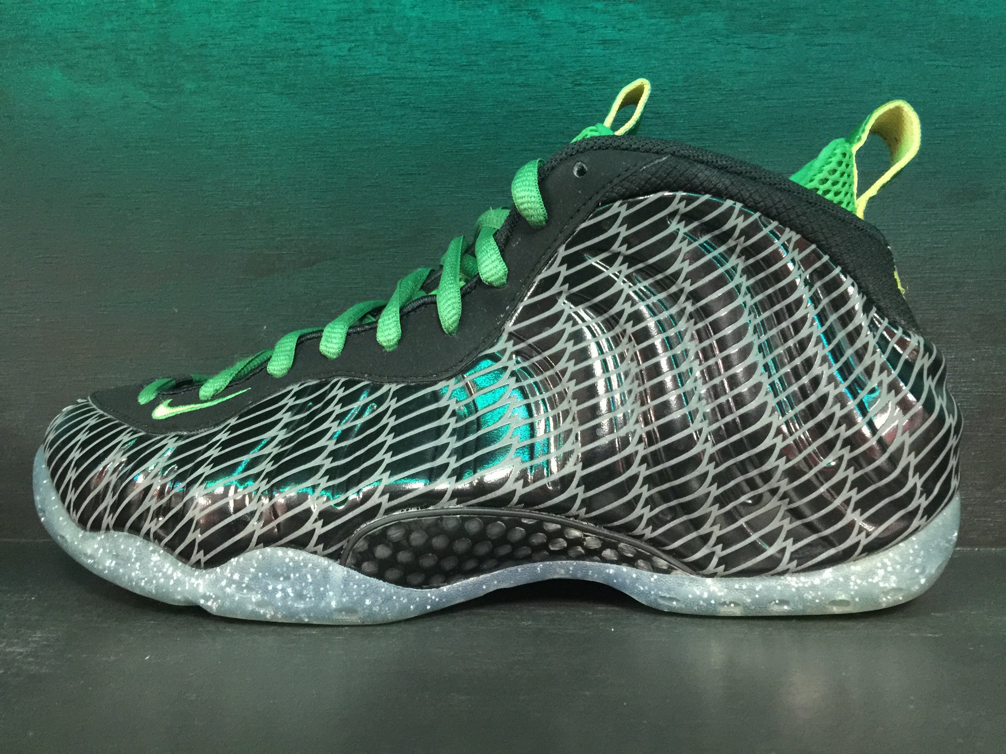 Air Foamposite One PRM UO QS 'Oregon Ducks'