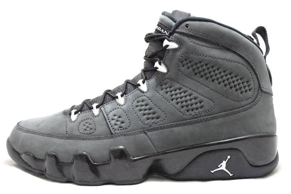 sneaker-plugz- jordans for sell- jordans for sale - retro jordans- air jordan - jordan collection -air-jordan-9-anthracite 9s -jordan 9 anthracite-staelth jordan 9-black -jordan 9-main