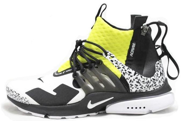 Acronym x Nike Air Presto Mid 'Dynamic Yellow'
