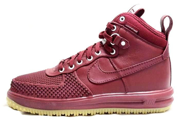 - SNEAKER PLUGZ- hightop air force 1s- duckboot air force 1s- nike for sell- nike duckboot- nike air force 1 one sneakers for sale- lunar air force 1 Nikes- red nike duckboot