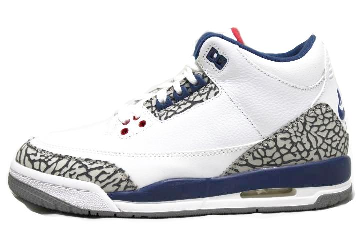 sneaker-plugz- jordans for sell- jordans for sale - retro jordans- air jordan - jordan collection -gs Jordan 3 Retro True Blue  GS- jordan -Jordan 3 RetroTrue Blue -gradeschool-gs-main