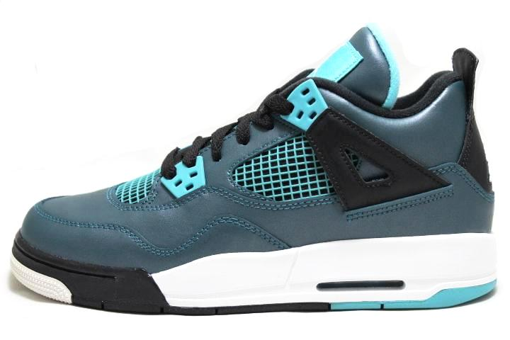 sneaker plugz-jordans for sale- jordans for sell-jordan 4 teal-teal4s-air jordan 4 teal-gradeschool- gs-main
