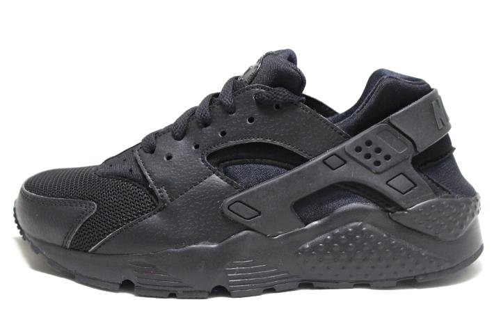 sneaker plugz-Huarache Run Triple Black- huarache run gs gradeschool- huarache triple black- nike huarache- nike huarache for sale- nike huarache for sell-main
