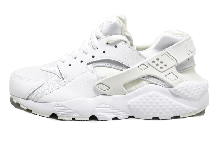 sneaker plugz-Huarache Run Triple white- huarache run gs gradeschool- huarache white- nike huarache- nike huarache for sale- nike huarache for sell- platinum white huaraches-main