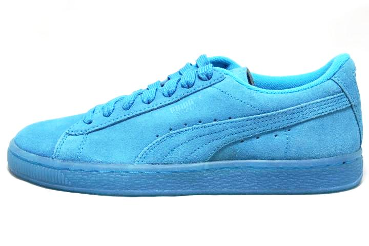 sneaker plugz--puma suede for sale-puma suede for sell- ice blue pumas- puma suede jr-main