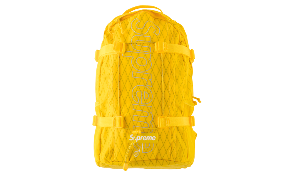 Supreme Backpack 'Yellow'