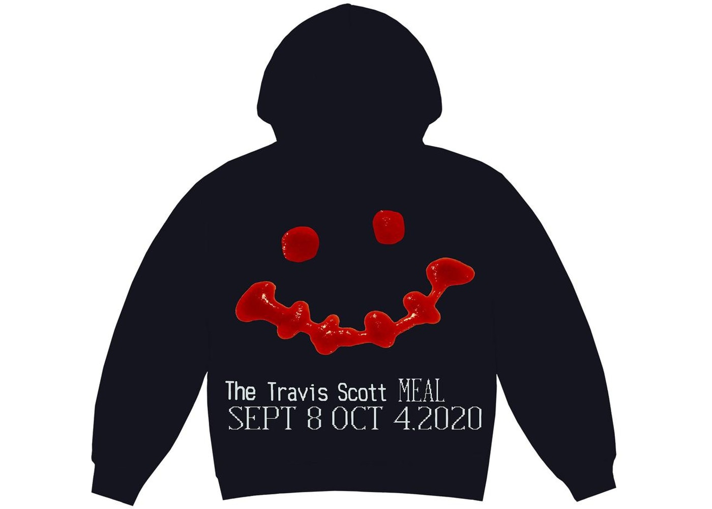 Travis Scott x CPFM 4 CJ Ketchup Hoodie Black