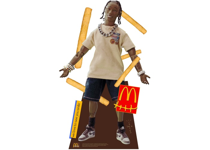 Travis Scott x McDonalds Action Figure Life-Size Cutout
