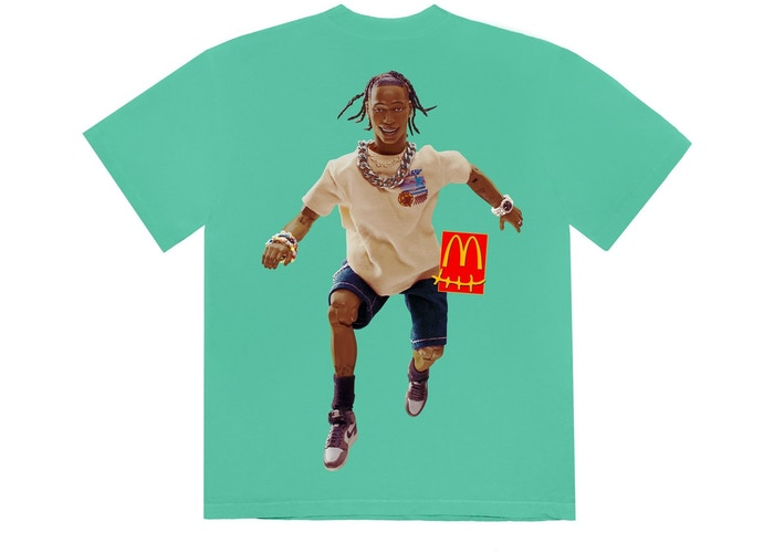 Travis Scott x McDonald's Action Figure Series IV T-Shirt Teal