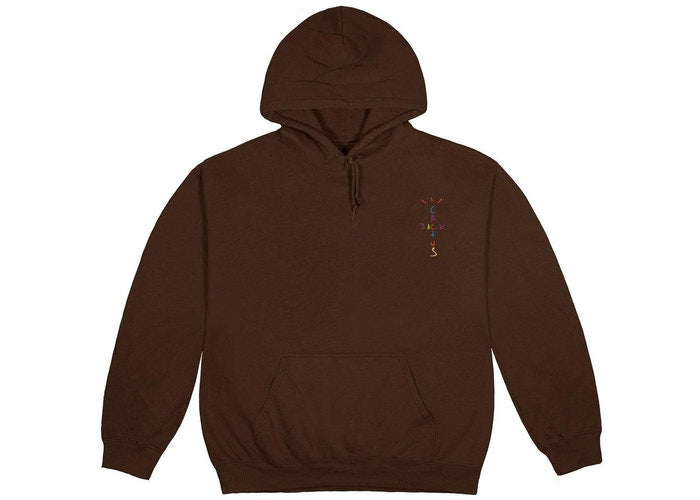 Travis Scott x McDonald's Cj Smile Hoodie Brown