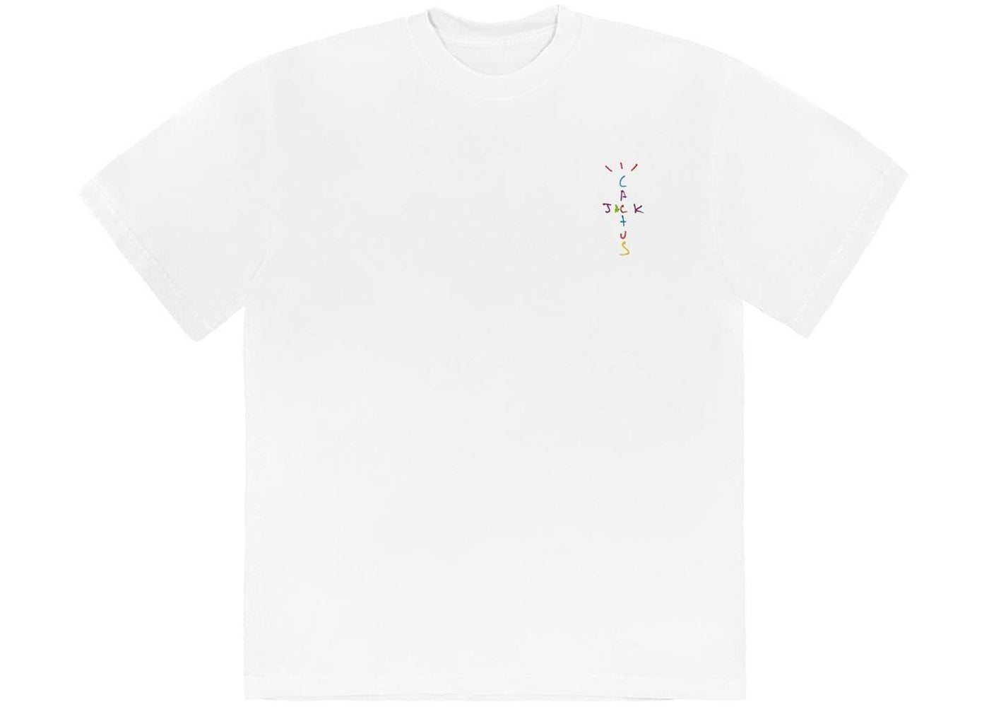 Travis Scott x McDonald's Cj Smile T-Shirt White