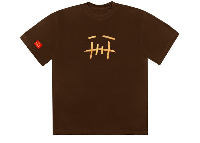 Travis Scott x McDonald's Fry II T-Shirt Brown