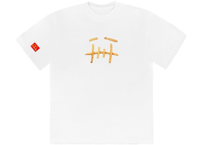 Travis Scott x McDonald's Fry T-Shirt White