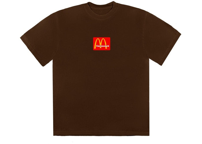 Travis Scott x McDonald's Sesame III T-Shirt Brown