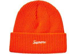 Supreme Loose Gauge Beanie (FW20) Bright Orange