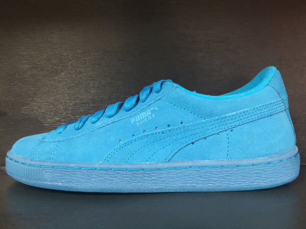 Puma Suede Iced Fluo Jr 'Atomic Blue-White'