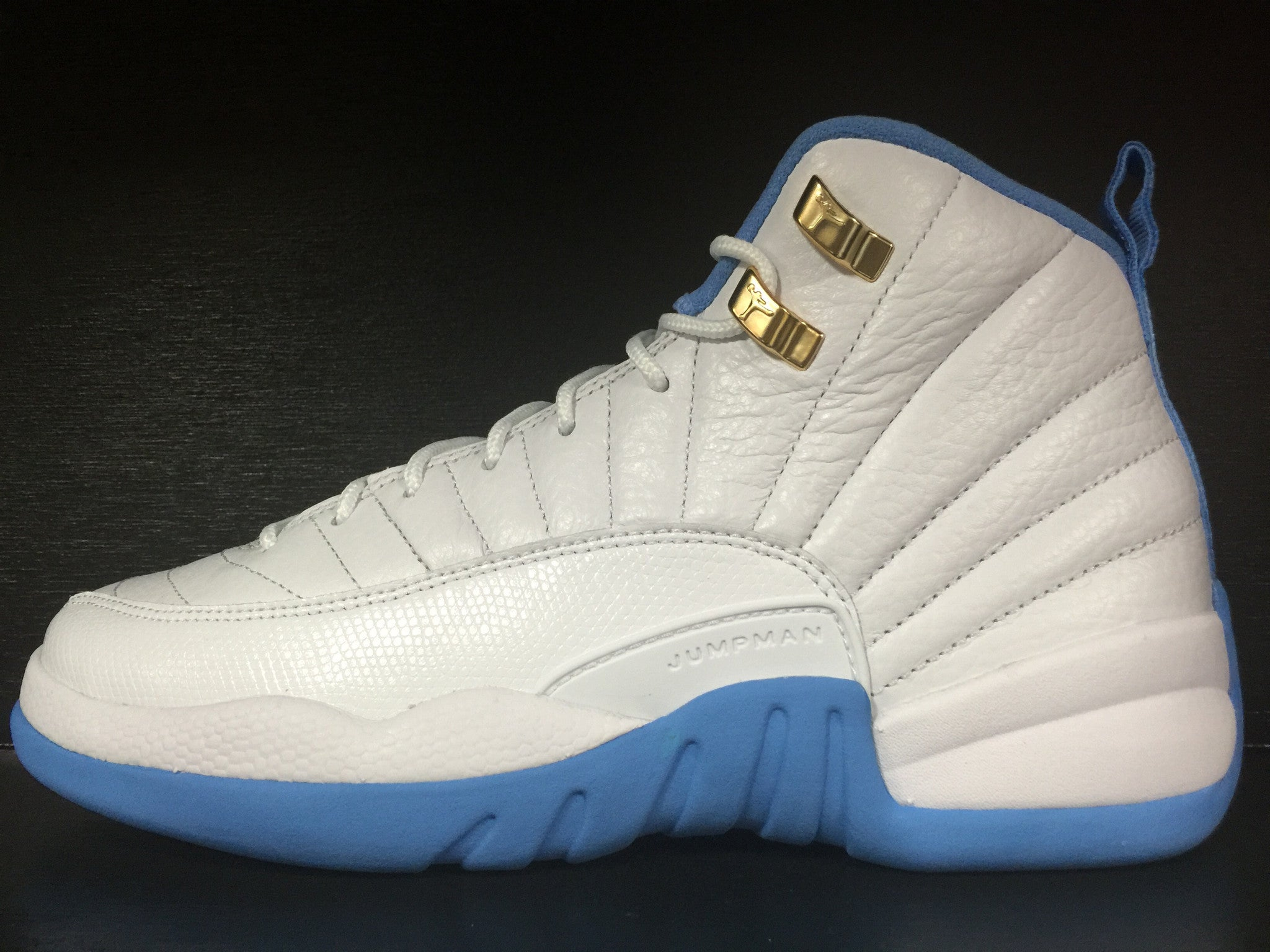 Air Jordan 12 Retro 'University Blue' 'Melo' GS