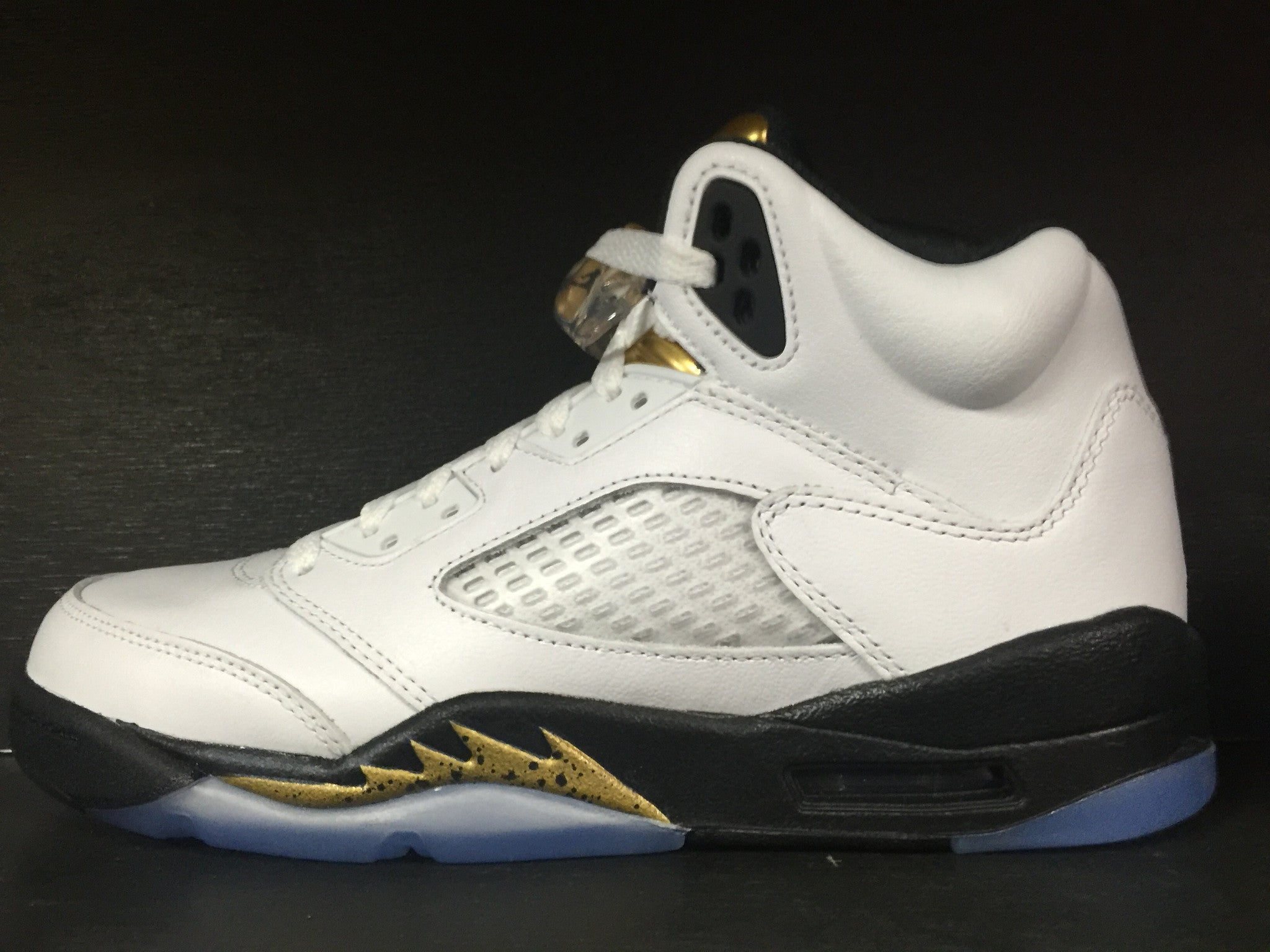 Air Jordan 5 Retro 'Olympic' 'Gold' GS