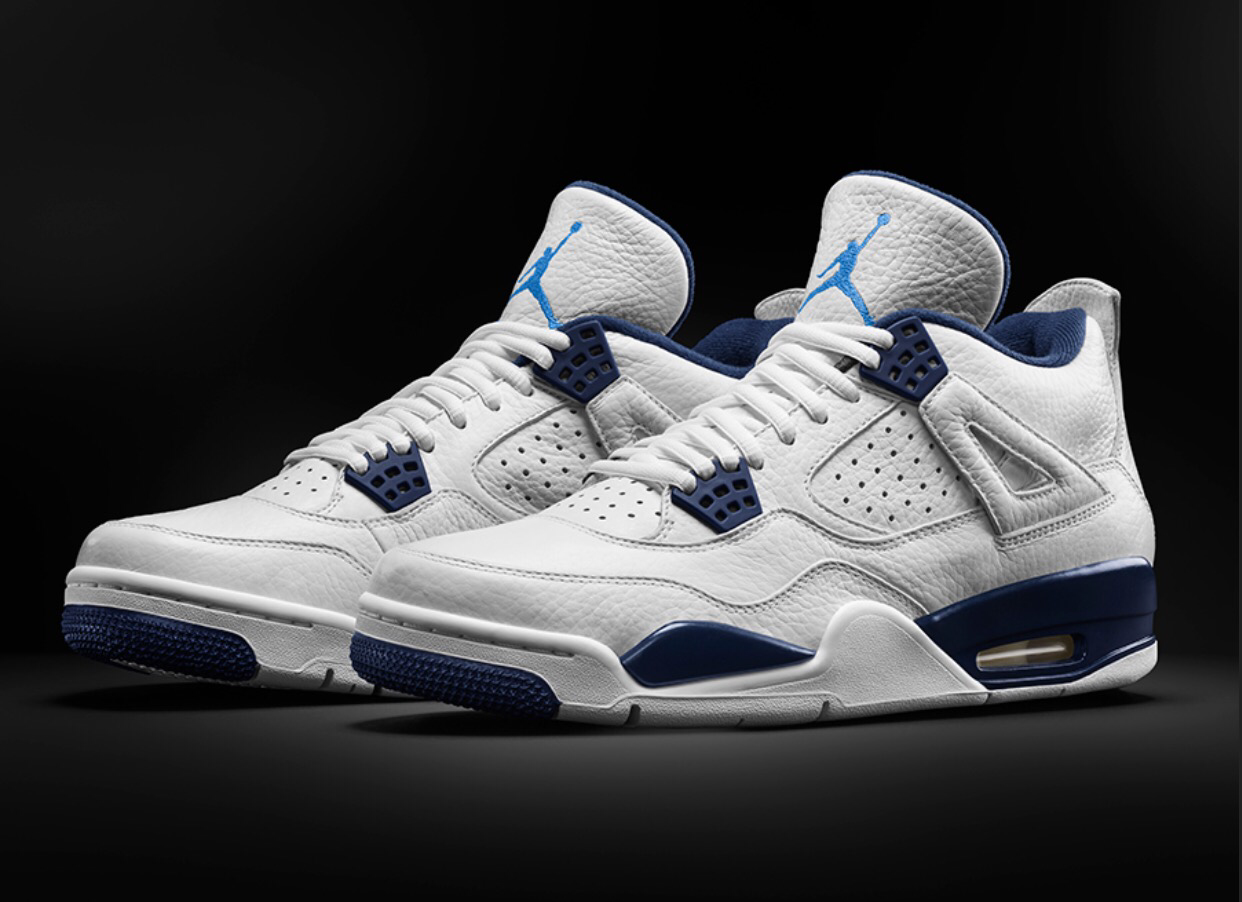 Air Jordan 4 Retro 'Columbia' Grade School