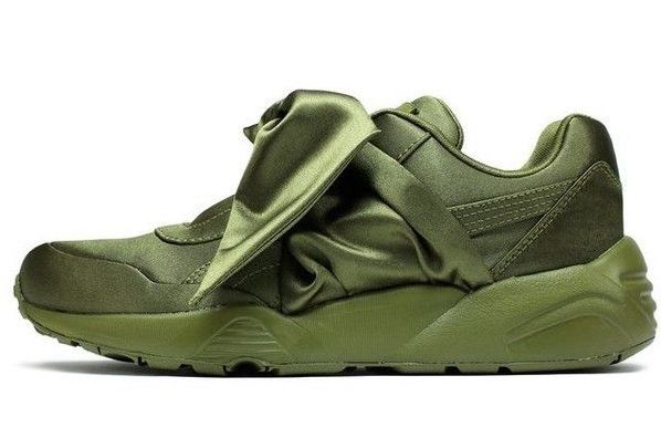 "WMNS Puma Bow Sneaker ""Olive"""