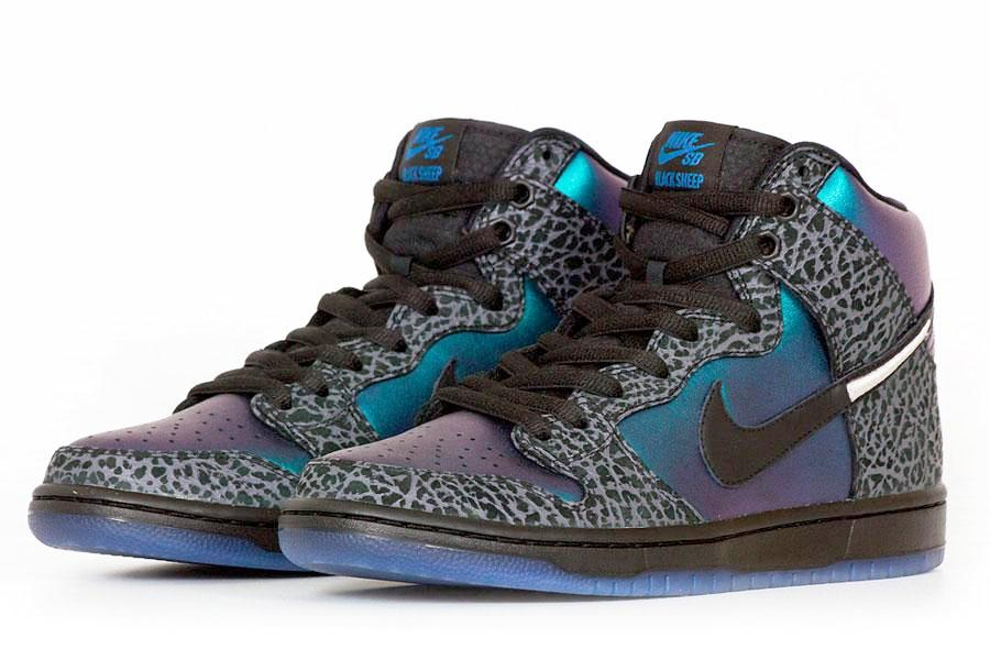 "Black Sheep x SB Dunk High ""Hornets"" ALL-STAR 2019 *Special Packaging*"