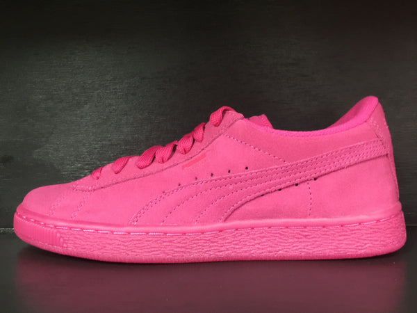 Puma Suede Iced Fluo Jr 'Beetroot Purple-White'