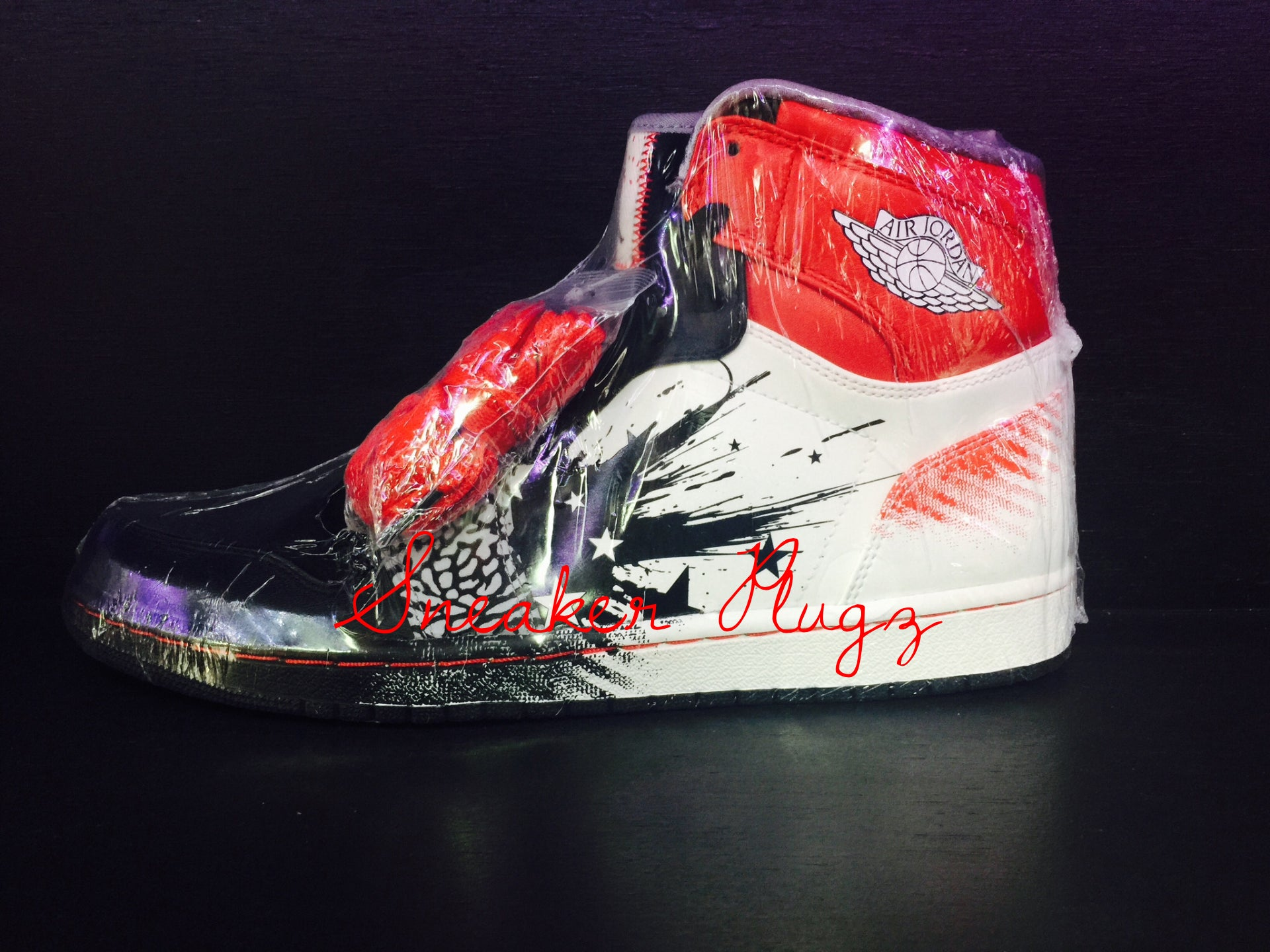 Air Jordan 1 Retro High Dave White 'Wings Of The Future'