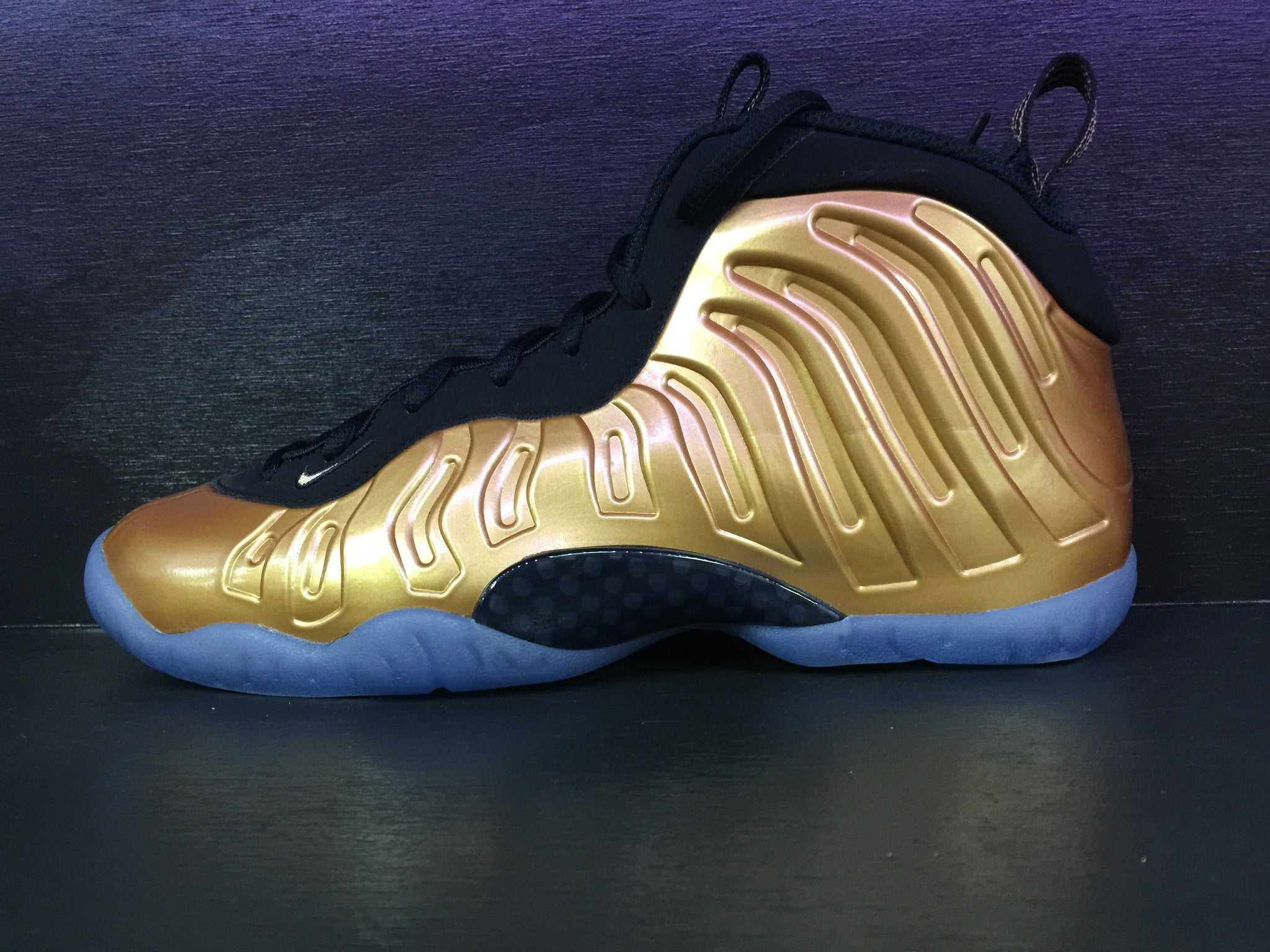 Nike Air Foamposite One 'Metallic Gold' Grade School