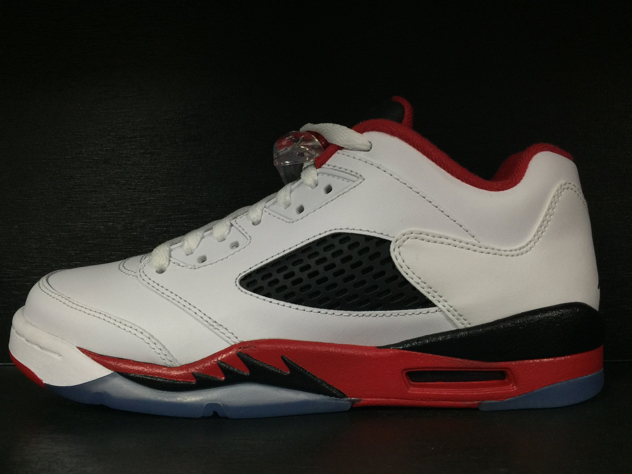 Air Jordan 5 Retro Low 'Fire Red' GS