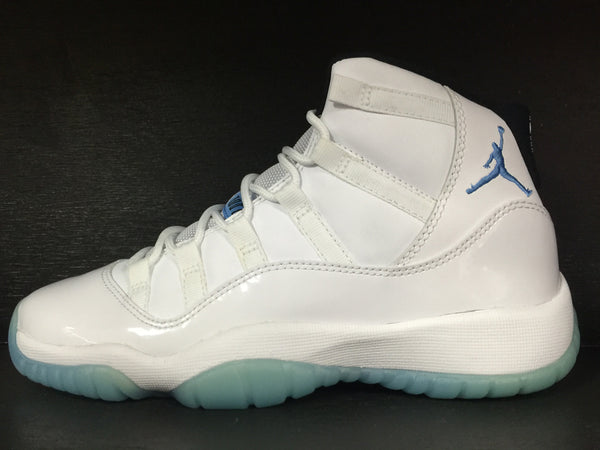 Air Jordan 11 Retro 'Columbia/Legend Blue' Grade School