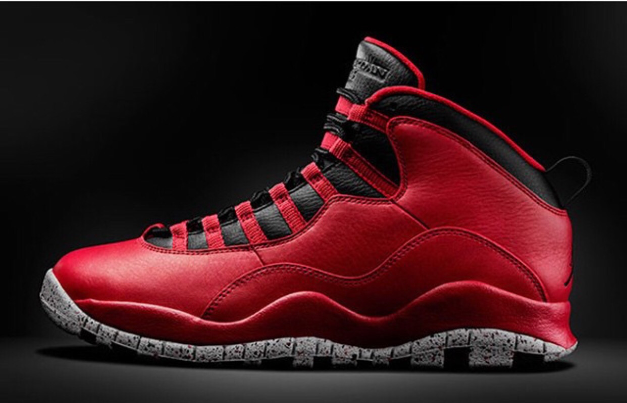 Air Jordan 10 Retro 'Bulls Over Broadway' Grade School Remastered